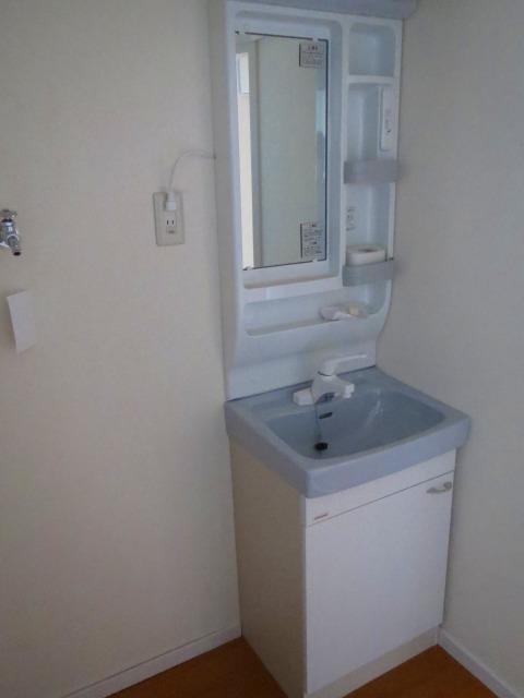 洗面台&洗濯機置き場